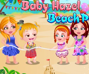 Baby Hazel Beach Party