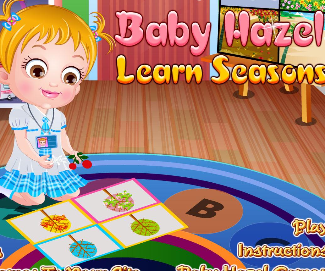 Baby Hazel Learn Animals   Fun-Baby-Games.com