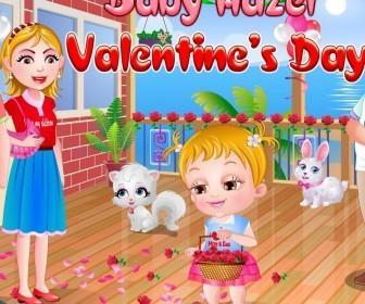 El Día San Valentín De Bebé Hazel